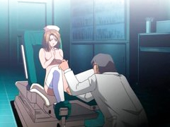 Anime nurse fucked in her juicy cunt