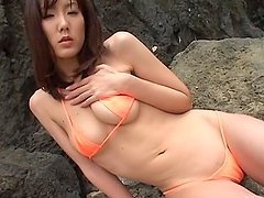 Japanese sweet girl is having rough sex outdoors