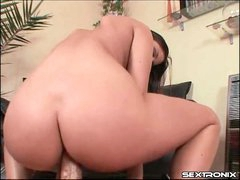Big dick fucks her asshole in POV anal..