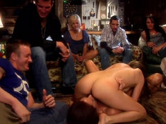 Hardcore orgy party with Jenna Haze..