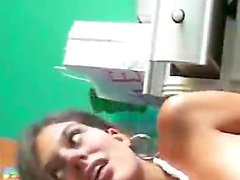 Latina chick masturbates for the camera