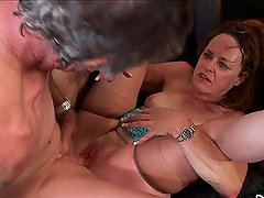 Horny Granny Kathleen Violet Loves To..