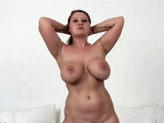Mature is horny and ready to masturbate