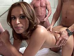 Triple Fun for Sexy Babe Gaya Patel in..