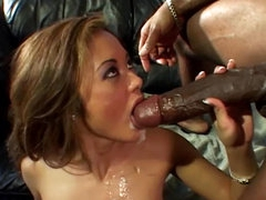 Sexy babe is getting fucked by..