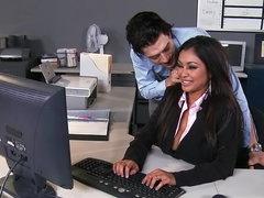 Secretary Priya Anjali Rai gets jizz..