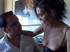 MILF Brunette Likes Her Sex Hardcore and Extremely Loud