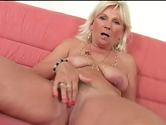 Old school Mamie gets toyed and fucked..