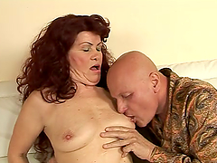 Redhead sluts get their pussies fingered and toyed