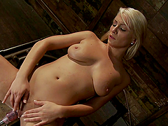 Blonde Lexi Swallow Gets Her Pussy..
