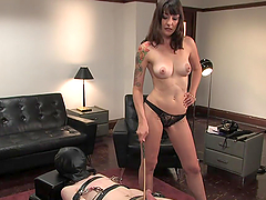 Great Femdom Scene With A Sex Milf