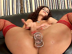 Leanna Sweet the anal angel gets toyed..