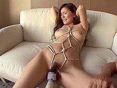 Yuna Shiina Loves Making Her Master..