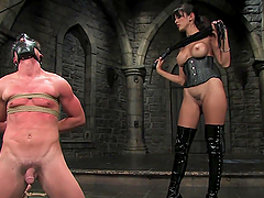 Femdom Games With A Dominant Brunette