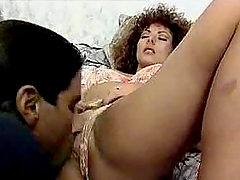 Retro style double penetration with a..