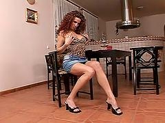Gorgeous Iveta Rucka toys her tight..