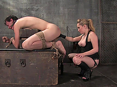 Pegging and 69 after Dick Torture in..