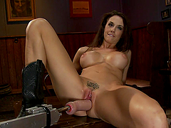 Horny Chanel Preston Orgasming with..