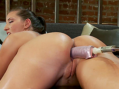 Kelly Divine Rubbing Her Clit while..