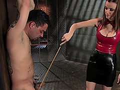 Hot Bondage Scene With A Sexy Dominant..