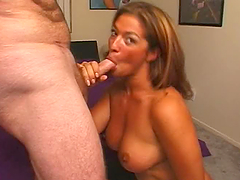 Bella-Marie Wolf shows her goods and..