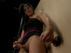 Gloryhole Play with Tranny Ends with..