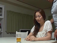 BUsty Japanese siren gets balled in a..