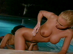 Sexy Ladies Have A Lesbian Moment In..