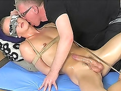 Sebastian Kane is masturbating a dick..
