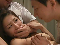 Maki Takei has astonishing threesome..