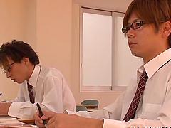 Horny teacher promises to improve..