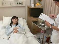 Japanese female patient has wild sex..