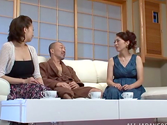 Two gorgeous Japanese women get fucked..