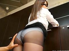 Hot Ayaka Tomoda Teases Through Her..