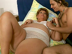 Big mature lady loves getting laid by..