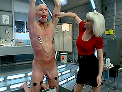 Femdom Torture At Its Finest With A Blonde Mistress
