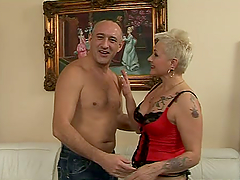 Fetish granny gets fucked by that..