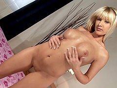 Natalli boasts of her terrific boobs..