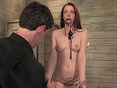 Kinky Redhead's Blows Her Master After..