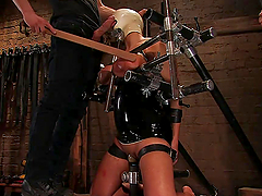 A Pleasuring And Himilating Bondage..