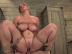 Busty Redhead's Fucked And Tortured By..