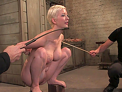 Submissive Blonde Is Tortured And Fucked