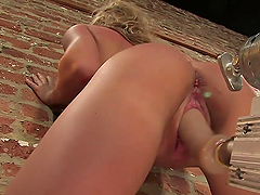 Beautiful Blonde Is Pleased By Fucking..
