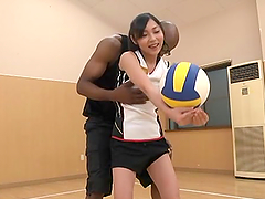 Petite Japanese girl gets fucked by..