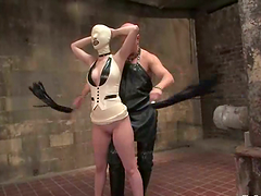 Cherry Torn gets beaten and fucked in..