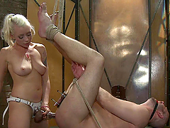 Painful experience with divine bitch