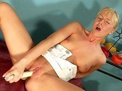 delightful blondie Johanna will not..