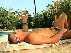 Three gays have some naughty banging..