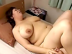 Asian mom blows and gets her fleshy..