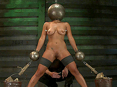 Exotic Girl Gets Kinky Humiliation